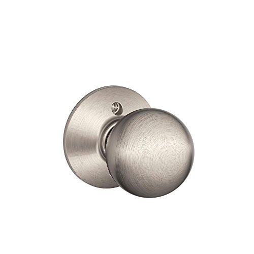 Orbit Knob Non-Turning Lock, Satin Nickel (F170 ORB 619)
