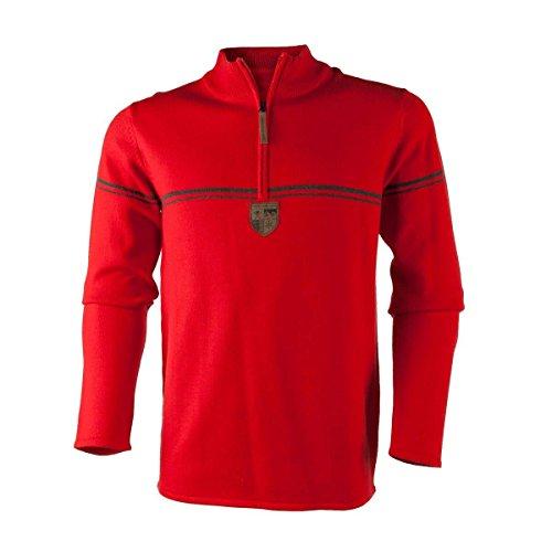 obermeyer-mens-zurich-1-2-zip-sweater-red-xx-large