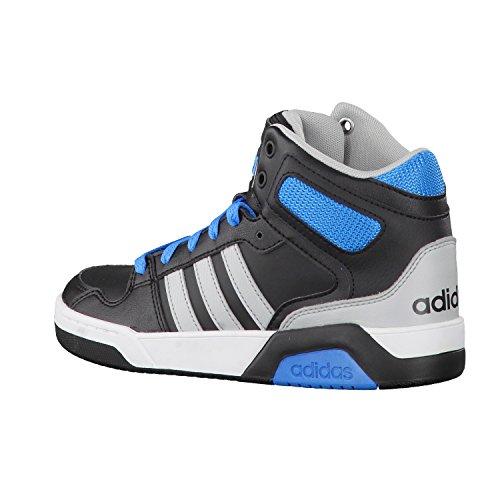 adidas Bb9tis Mid K, Zapatillas de Deporte para Niños negro
