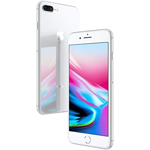 Apple iPhone 8 Plus, AT&T, 64GB - Silver (Renewed) by Apple