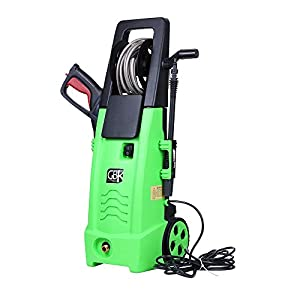 GBK 2100-PSI Electric Pressure Washer with 6-metre High Pressure Hose and 6-metre Power Cord