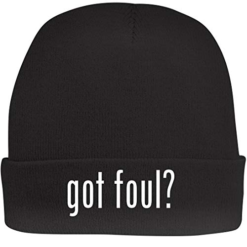 Shirt Me Up got Foul? - A Nice Beanie Cap, Black, OSFA ()