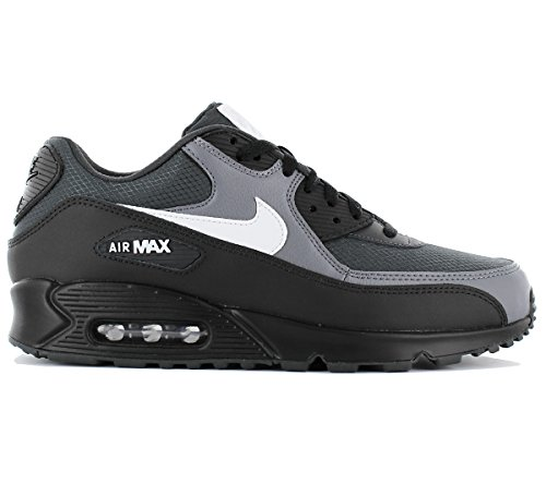 Nike Max 90 essenziale Air Rosso Oro da Uomo in Pelle Mesh LowTop Scarpe Da Ginnastica Scarpe Da Ginnastica