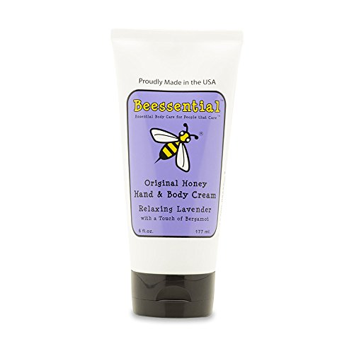 Beessential Relaxing Hand And Body Cream, Lavendar And Bergamont, 6 Ounce