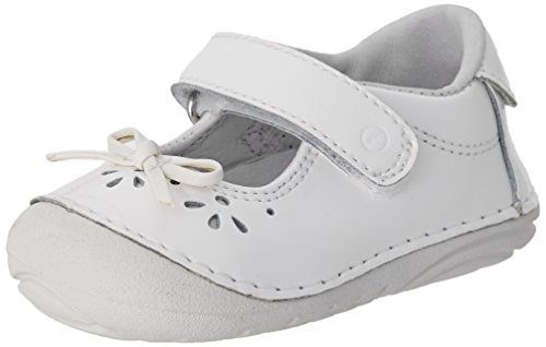 Stride Rite Soft Motion Jane Flat (Infant/Toddler),White,4.5 M US Toddler