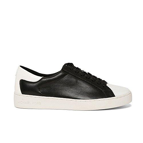 Sneakers Michael Kors Mujer Piel Negro y Blanco 43R7FRFS2LOPTICWHT Negro 36.5EU