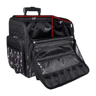 Bolso de Lujo de la Carretilla de Costura 46x23x46cm Everything Mary EVM10130-4: Amazon.es: Hogar