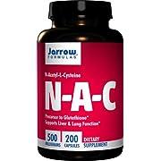 Jarrow N-A-C 500 mg, 200 caps (Multi-Pack)