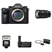 Sony a9 Full Frame Mirrorless Interchangeable-Lens Camera w/ SEL2470GM Lens & Accessories