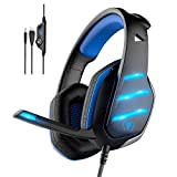 Gaming Headset,MMUSC Stereo Headphones for Laptop,Tablet,PS4, PC, Xbox One Controller, Noise Cancelling Over