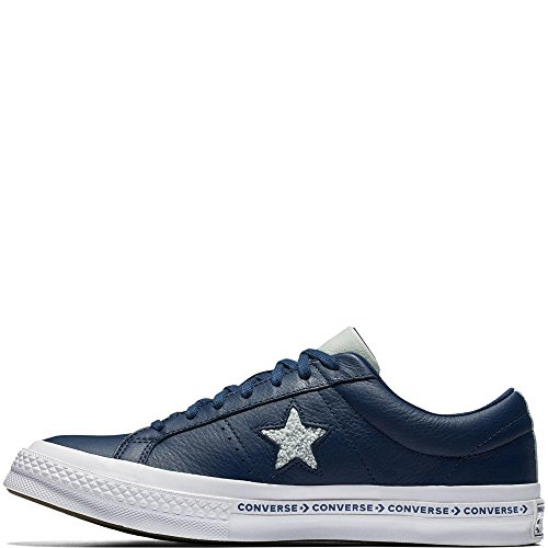 Blau Lifestyle Bamboo Dried Converse Unisex Erwachsene Star 426 Leather One Fitnessschuhe White Ox Navy UBx8qwp