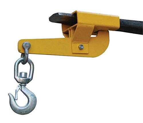 Vestil S-FORK-4-AT Hoisting Hook Auto-Tension Swivel Hook