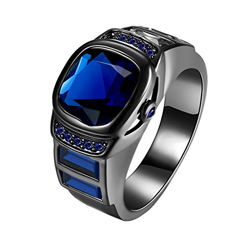 Wrisky Men Women Zodiac Originality Diamond Finger Ring Watch Style