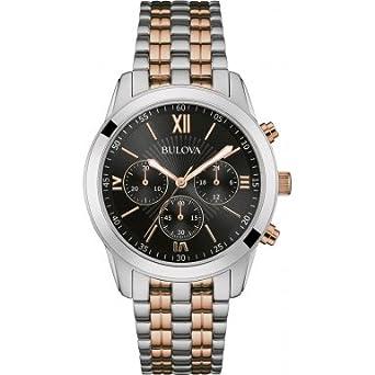 bulova 98a153 mens dress watch amazon co uk watches bulova 98a153 mens dress watch