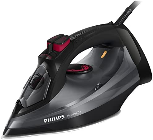 Philips PowerLife Steam Iron GC2998/86 with up to 170g Steam Boost [Energy Class A]