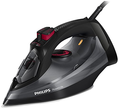 Philips PowerLife GC2998/86 ferro da stiro Ferro a vapore SteamGlide Nero 2400 W