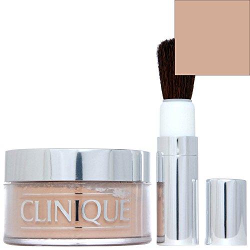 Clinique Blended Face Powder Brush (Clinique Blended Face Powder and Brush 04 Transparency 4 (M) 1.2 oz (1 Piece))