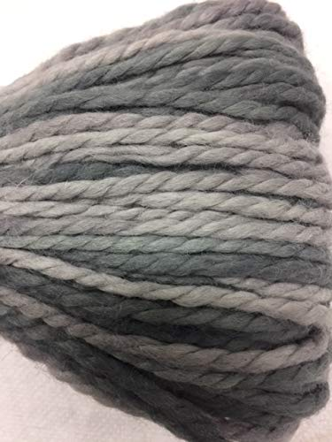 (Plymouth Baby Alpaca Grande Hand Dye 37 Grey Mix)