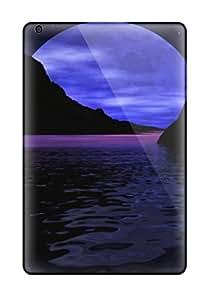 Excellent Ipad Mini/mini 2 Case Tpu Cover Back Skin Protector Blue Moon