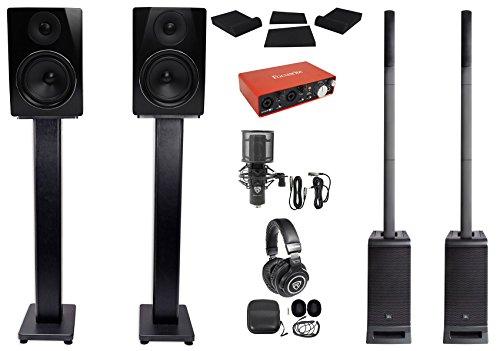 JBL EON ONE PRO PA Array Speakers+Subwoofers + Studio Recor