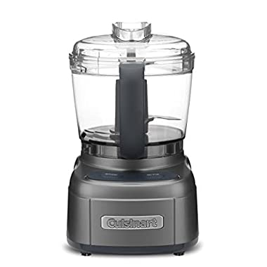 Cuisinart ECH-4GM Elemental Collection 4-Cup Chopper/Grinder, Gun Metal