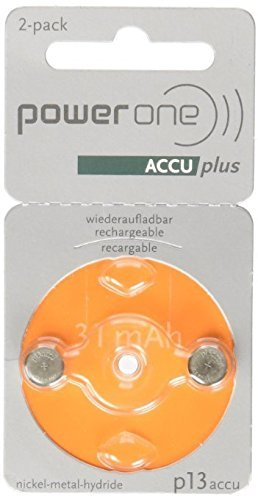 ACCU plus p13 Hearing Rechargeable