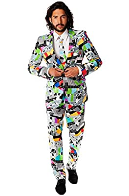 Opposuits Mens Crazy Designs - Summer Party Suit and Tie