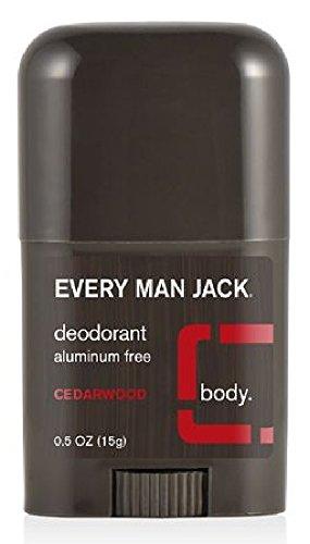 Every Man Jack Deodorant,Travel 0.5 Oz