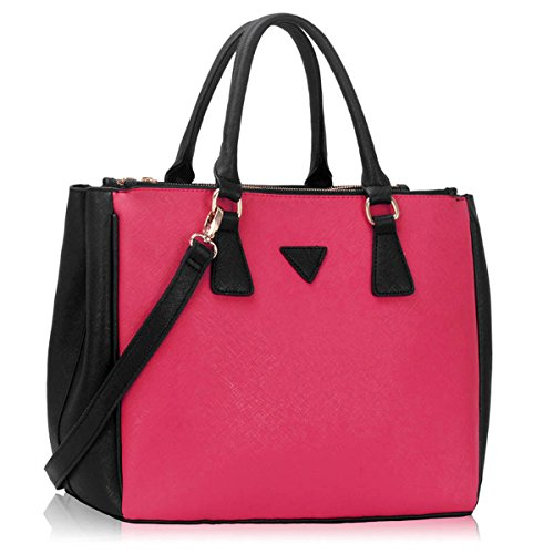 Xardi London, Borsa tote donna Black/Pink