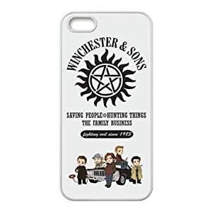 Happy Winchester And Song Cell Phone Case for Iphone 5s