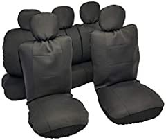 """Comfortable """"Rome"""" cloth (polyester mesh) with padded foam backing new pink look - renew your vehicle instantly easy installation (instructions and clip/hooks included) compatible with side air bags and armrests optional reinforced foam paddi..."""