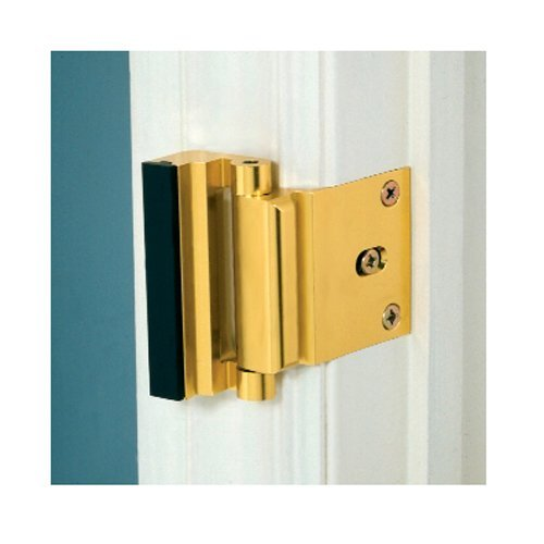 Door Guardian DG01-AB Door Guardian Security Lock - Antique Brass - Technologylk Locks