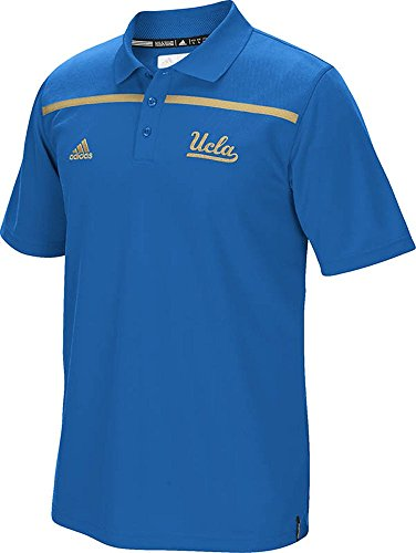 UCLA Bruins Bright Royal 2015 Adidas Coaches Sideline Climalite Polo (X-Large) (Sideline Adidas Polo Shirt)