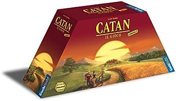Giochi Uniti GU389 I Coloni di Catan Compact - Juego de Mesa (en francés): Amazon.es: Juguetes y juegos