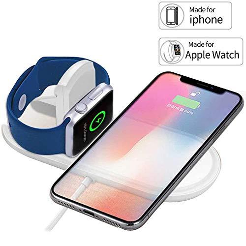 Cargador inalámbrico 3 en 1 para Apple Watch y iPhone ...
