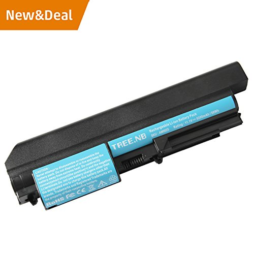erformance Widescreen battery for IBM Lenovo ThinkPad R61 R61i T61 T61p T400 R400 Series Laptop 14.1 Inch - Long Life, 24Months Warranty ()