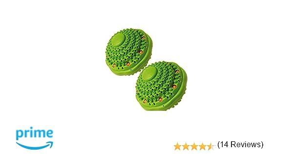 Irisana 72.IR20X2 - Ecobola doble para lavadora, color verde agua, pack de 2: Amazon.es: Hogar
