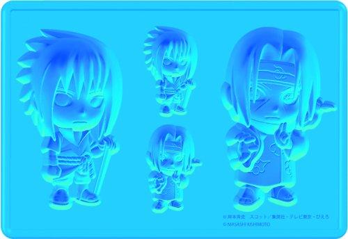 Kotobukiya Naruto Sasuke and Itachi Silicone Ice (Naruto Silicone Tray)
