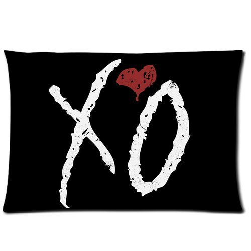 The Weeknd XO Custom Pillowcase Standard Size 20x30 Pillow Cover One Side Design
