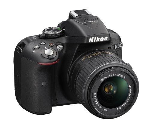 Nikon D5300 24.2 MP CMOS Digital SLR Camera with 18-55mm f/3.5-5.6G ED VR Auto Focus-S DX NIKKOR Zoom Lens (Black) 3