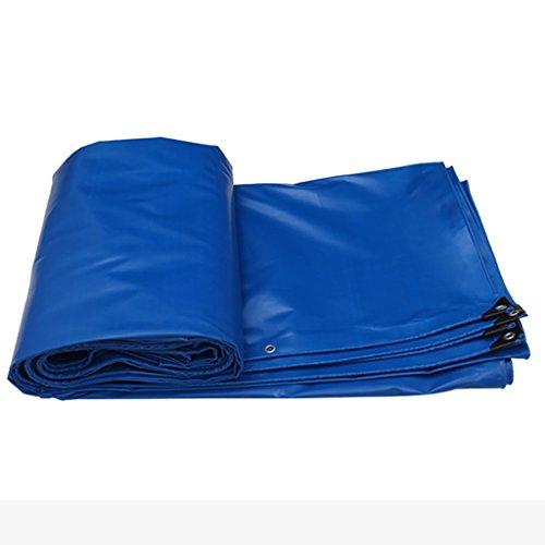 耕す決済賄賂雨布厚い断熱テント防水布雨布防水布厚いプラスチックシート様々なサイズのパンチングロープキャンバス (サイズ さいず : 7 * 5m)