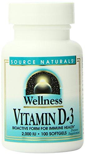 Source Naturals Wellness Vitamin D-3, Bioactive Form for Imm