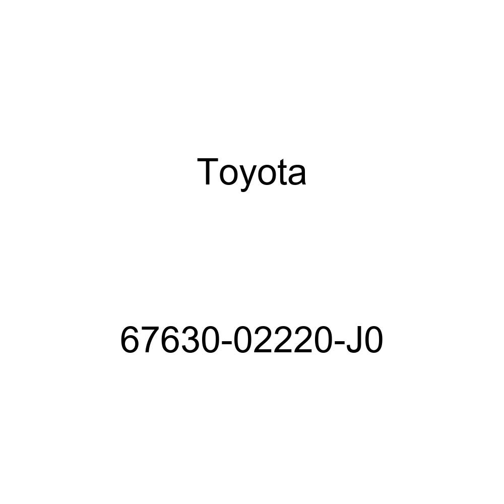 Genuine Toyota 67630-02220-J0 Door Trim Board
