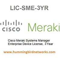 Cisco Meraki Systems Manager Enterprise Device License, 3 Years, Electronic Delivery