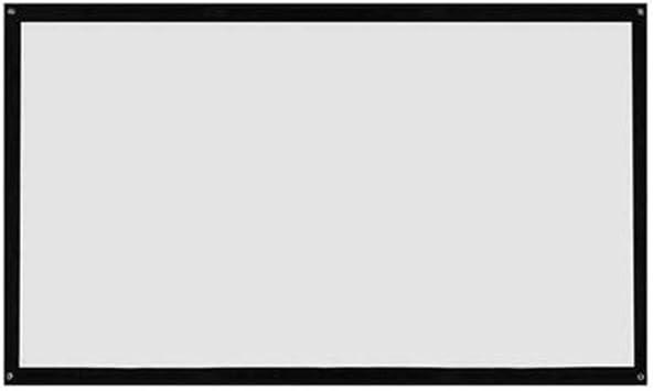 16: 9 Pantalla de proyector Plegable portátil Montado en la Pared ...