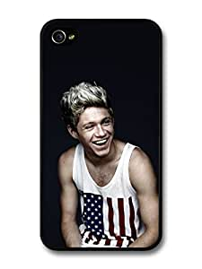Niall Horan American Flag Smiling 1D One Direction case for iPhone 4 4S A1257