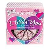 Valentine's Day Pup-Pie ''I Ruff You'' Pie Shaped Dog Treat