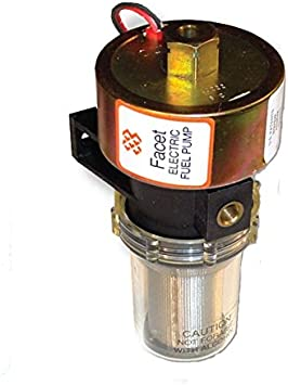 NEW 12V FACET SOLID STATE FUEL PUMP PACKARD CONNECTOR DURA-LIFT 12-15PSI