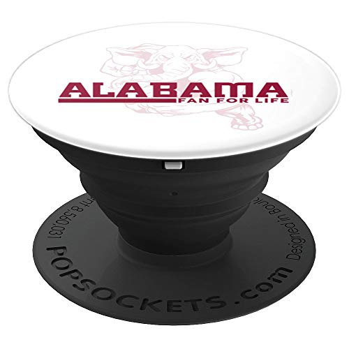 Alabama Football Fan Holder Accessory - PopSockets Grip and Stand for Phones and Tablets