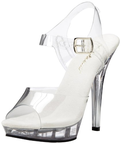 Sandals Transparent C Heels Clear Lip108 M Fabulicious Women Wedge qFYxCB